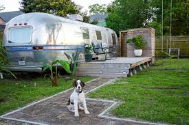 An Airstream Trailer Is Transformed Into A Tiny Retro Guesthouse