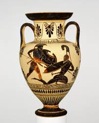 Magna Tiles Amazones by Scenes From The Iliad Black Figured Neck Amphora Deadly Close