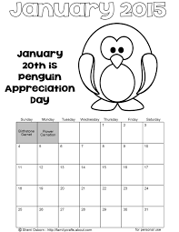 Download Coloring Pages 2015 January Sheet Page Of Animals