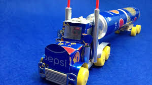 100 Dc Toy Trucks How To Make A Truck With DC Motor Awesome Pepsi Truck YouTube
