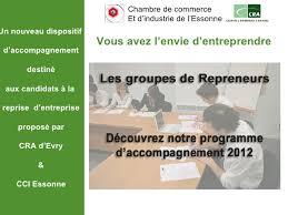 chambre de commerce essonne programme accompagnement gr 2012