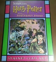 Details About Scenes From Harry Potter The Sorcerers Stone Stained Glass Art