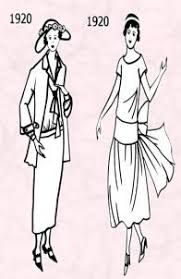 1920s Flapper Fashion History C20th Costume For Women In