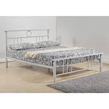 emden queen size bedframe silver bed frames bedroom