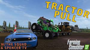 100 Truck Pull Games MONSTER TRUCK PULL Farming Simulator 2017 YouTube
