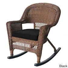 Jeco Honey Rocker Wicker Chairs With Cushions (Set Of 2 ... Kampmann Outdoor Wicker Rocking Chair With Cushions Harmony Patio Blackwhite Mesh Cast Alinum Frame On Porch Black Resin Indoor Chairs Elegant 52 Currituck Sophisticated Relaxing Ratan Fniture Acceptable Antique Prices Buy Pricesratan 3pc Rocker Set With Brick Red Cushion Intertional Caravan San Tropez Gliders Rockers Sale Kmart Childrens
