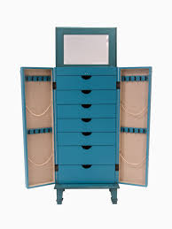 Cabby Jewelry Armoire ~ Rustic Turquoise | Hives And Honey Bedroom Tv Armoire Best Home Design Ideas Stesyllabus Chalk Paint Makeover Nyc Armoires And Wardrobes For Your Or Apartment At Abc Transformed Twicefishing Up With Artsy Custom Cabinet Desk Creative Of Doll Wardrobe Shabby Chic Light Blue Coat Closet Tammy Jewelry Multiple Colors By Acme 70acme97169 How To Install Mirrored Steveb Interior Distressed For Dinnerware Create A Awesome 19th Century French Antique