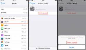 How to Delete iOS Update on iPhone iPad iOS 11 Included