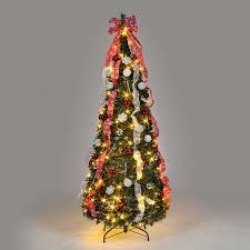 Black Pre Lit Pop Up Christmas Tree by Prelit Christmastrees Christmas Trees U0026 Lights