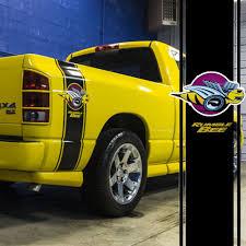 100 Rumble Bee Truck 2pcs Racing Stripe Car Vinyl Stickers Decals For