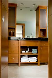 Bathroom Vanity Tower Cabinet by Custom Vanity Gallery Custom Millwork Milwaukee Wisconsin