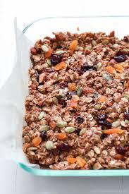 Pumpkin Flaxseed Granola Nutrition Info by No Bake Pumpkin Spice Granola Bar Recipe Breakfast