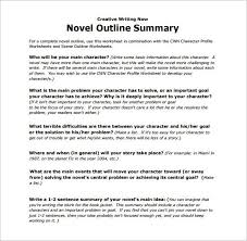 Free Download Novel Outline Summary Template Pdf Pritable Story Templates Resume