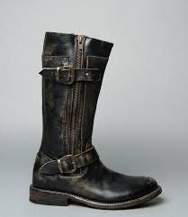 gogo black handwash tall boots women bed stu