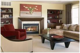 Living Room With Fireplace And Bookshelves by Living Room Coffe Table Bookshelf Tv Cabinets Living Room