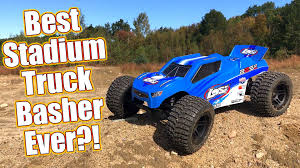 100 Stadium Truck Pro Basher Losi 22S ST RTR Brushless Review RC Driver