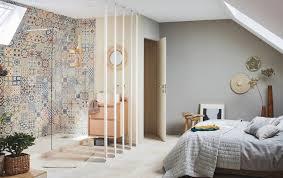 chambre salle de bain ouverte une salle de bains ouverte sur la chambre simple et pratique