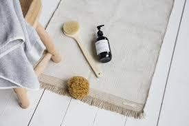 schöner teppich für das badezimmer meraki der teppich