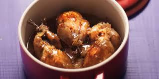 cailles à la cocotte et aux oignons caramélisés facile recette