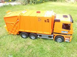 BRUDER Garbage/Recycling Truck - EXCELLENT Condition   In Blandford ... Bruder Toys Garbage Truck At Work Youtube Buy Bruder Man Tgs Side Loading Garbage Truck Online Toys Australia Man Rear Orange Shop For In Rearloading Greenyellow 03764 02812 Mack Granite A Video Tga Green 02753 Amazoncom Recycling By Games The Rocking Horse Kingston German Made New 2017 Buy Scania Truck Orange Full Of Store In India Mack Jadrem