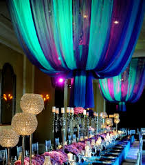 Turquoise And Yellow Wedding Decor For Summer
