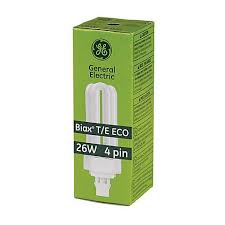 ge biax 26 watt t e eco 4 pin light bulb 37132