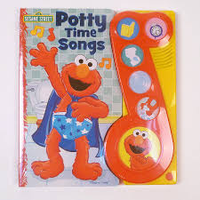 Elmo Potty Seat Cover by Elmo U0027s Potty Time Songs Book Potty Training Concepts