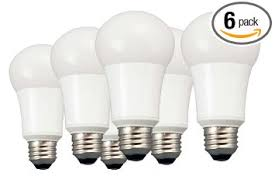 6 pack tcp 60w equivalent daylight a19 non dimmable led light