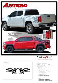100 Chevy Decals For Trucks ANTERO 20152019 Colorado Rear Bed Graphic Truck Decal