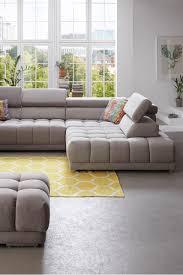 megapol ecksofa mit quadratischer steppung wohnung sofa
