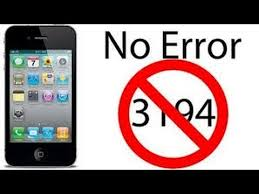 how to fix error 3194 update 21 04 2014 iphone 4 4s 5 5c 5s and