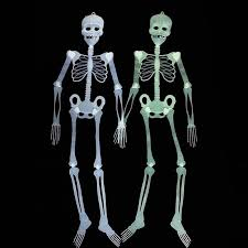 Scary Halloween Props For Haunted House by Online Shop 2set Lot Scary Halloween Skeleton Decoration Glow In