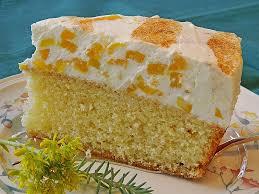 fanta kuchen mit pfirsich schmand