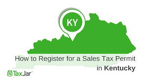 Ky Revenue Cabinet Louisville by Register Sales Tax Permit In Kentucky Png