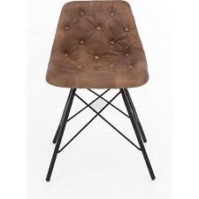 2x design ledersessel stuhl set esszimmer stühle küchenstuhl polsterstuhl sessel