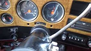 1977 Chevy K5 Blazer Interior Dash and En
