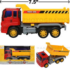 100 Toy Construction Trucks DUMP LOAD TRUCK TOY CONSTRUCTION VEHICLE FRICTION POWERED KIDS LOVE