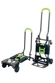 COSCO HEAVY DUTY Folding Hand Truck And Dolly Convertible 2 Or 4 ...
