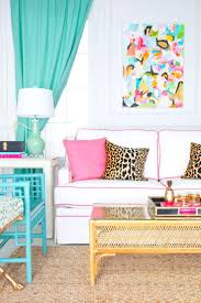 Orange Grey And Turquoise Living Room by Best 25 Bright Curtains Ideas On Pinterest Girls Room Curtains