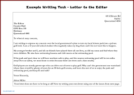 Format Of English Letter Writing Proper Formal Letter Structure