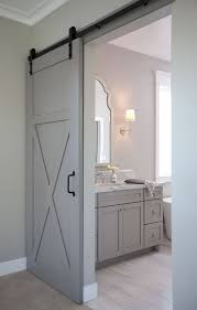 Bathrooms Design : Interior Barn Door For Bathroom Rustic Doors ... Best 25 Glass Barn Doors Ideas On Pinterest Interior Glass Pacific Entries 36 In X 84 Shaker 2panel Primed Pine Wood Barn Doors For Homes Outstanding Sliding Pa Nj Md Va Ny New Holland Supply Knotty Door Home Bedroom Decofurnish For Sale Picturesque Grey Finished With Building A Interior Sliding Homes_00032 Concord Green The Have Arrived