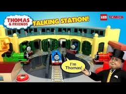 Thomas Tidmouth Sheds Deluxe Set by Thomas And Friends Tomica Deluxe Talking Tidmouth Sheds Changing