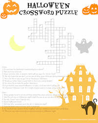 Halloween Picture Books For 4th Grade by Halloween Crossword Parents Scholastic Com