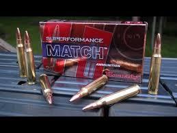 AMMO TEST 5 56mm Hornady Superformance Match 75 gr BTHP