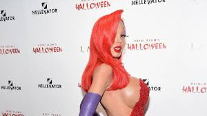 Halloween Heidi Klum Jessica Rabbit by Buildingabetterbloke Part 151