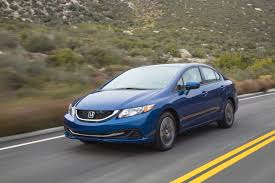honda civic sales are steadily declining corolla s rising the