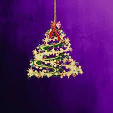 25 Collectible Keepsakes Contemporary Christmas Tree Ornament