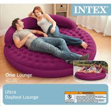 Intex Inflatable Pull Out Sofa Bed by Buy Intex Ultra Daybed Inflatable Lounge 75 X 21 Online At Low