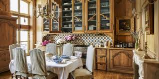French Country Style Interiors