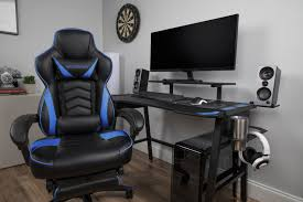 RESPAWN 110 Racing Style Gaming Chair, Reclining Ergonomic Leather ... Factory Direct New Gaming Chair Racing Style Highback Office Grandmaster Red Pc Opseat Pink Computer Series Fniture Comfortable Walmart For Relax Your Seat Dxracer Formula Fl08 Officegaming Black White Best 2019 Chairs For And Console Gamers The 14 Of Gear Patrol Top 15 Ergonomic Buyers Guide Wip My Girlfriends Btlestation Beside Mine Dream Pcs In Respawn Desk Set Reviews Wayfair